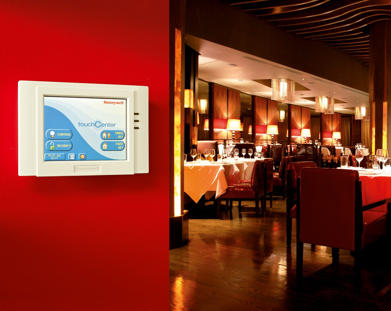 Honeywell Access Control System - Restaurant
