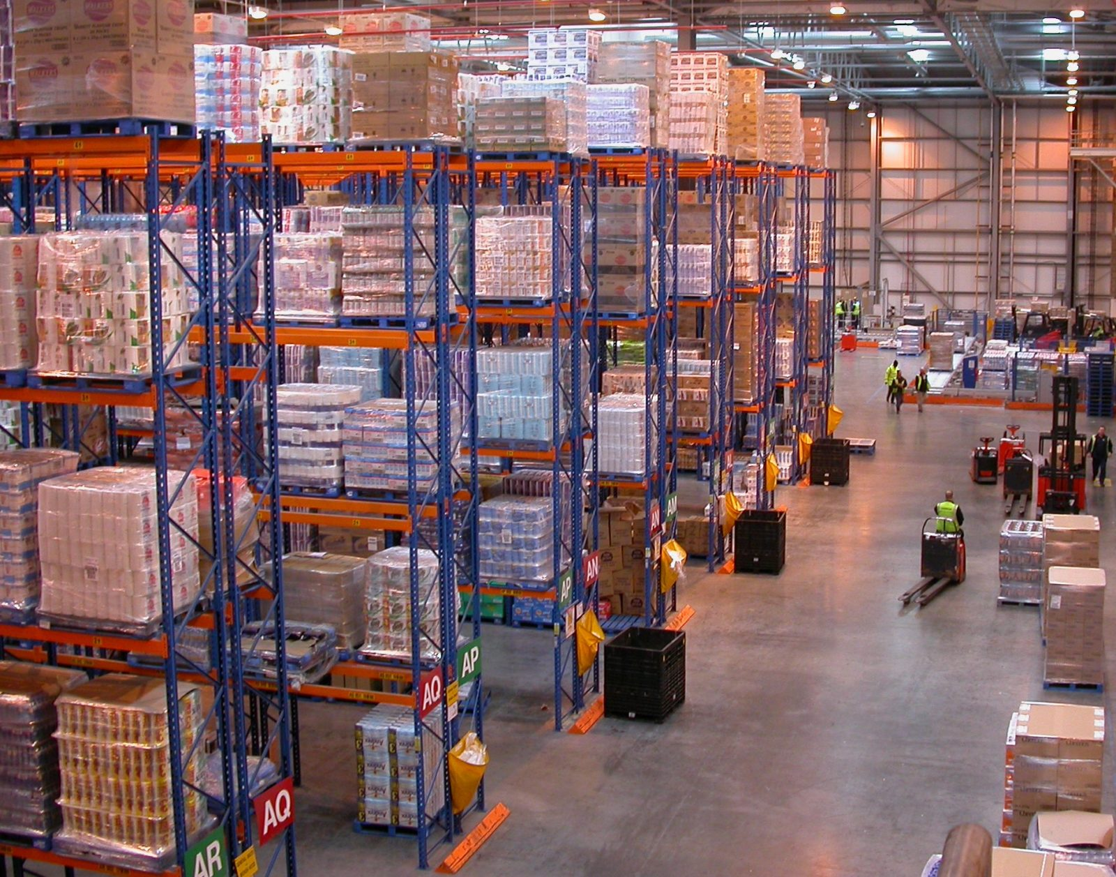 Fire Alarm Sytems for Warehouses & Distribution Centres