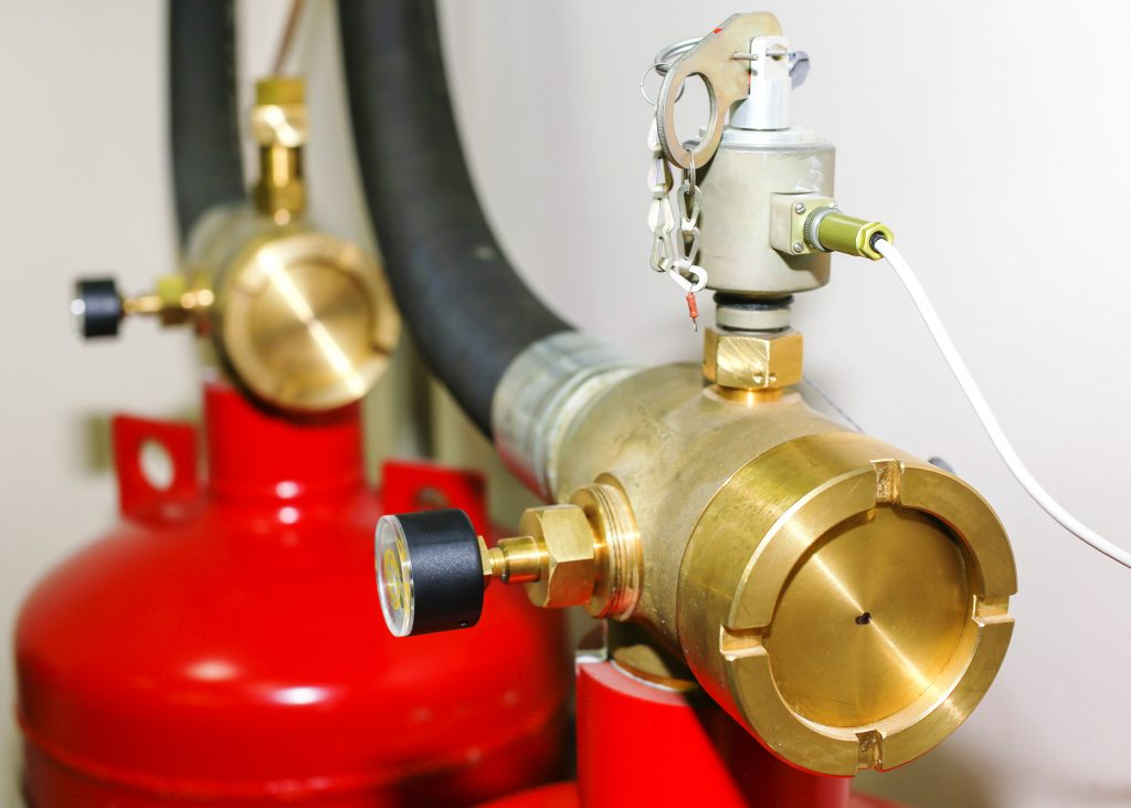 Gas Fire Suppression Systems