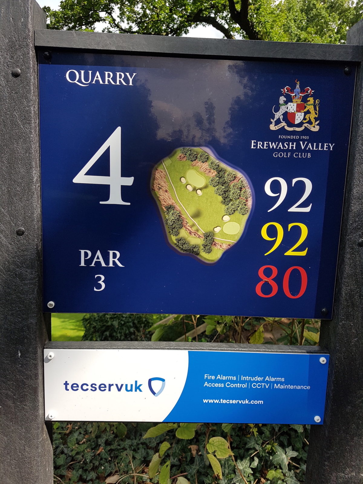 Tecserv UK Sponsorship Erewash Valley Golf Club