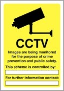 CCTV Workplace Laws sign