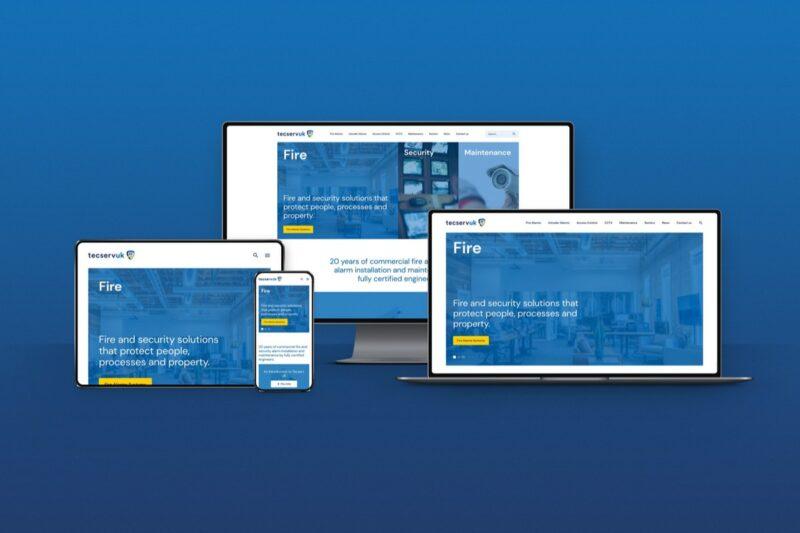 Tecserv Launch new website